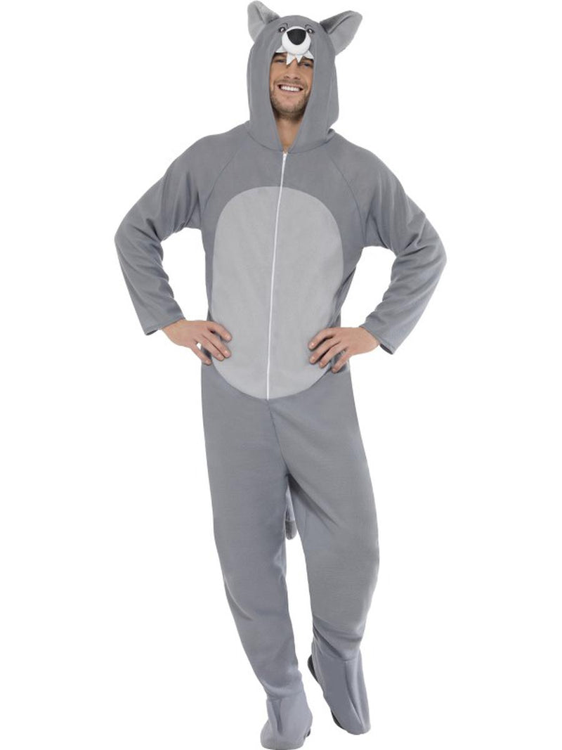 1-PC-Unisex-Wolf-Hooded-Jumpsuit-Bodysuit-Party-Costume
