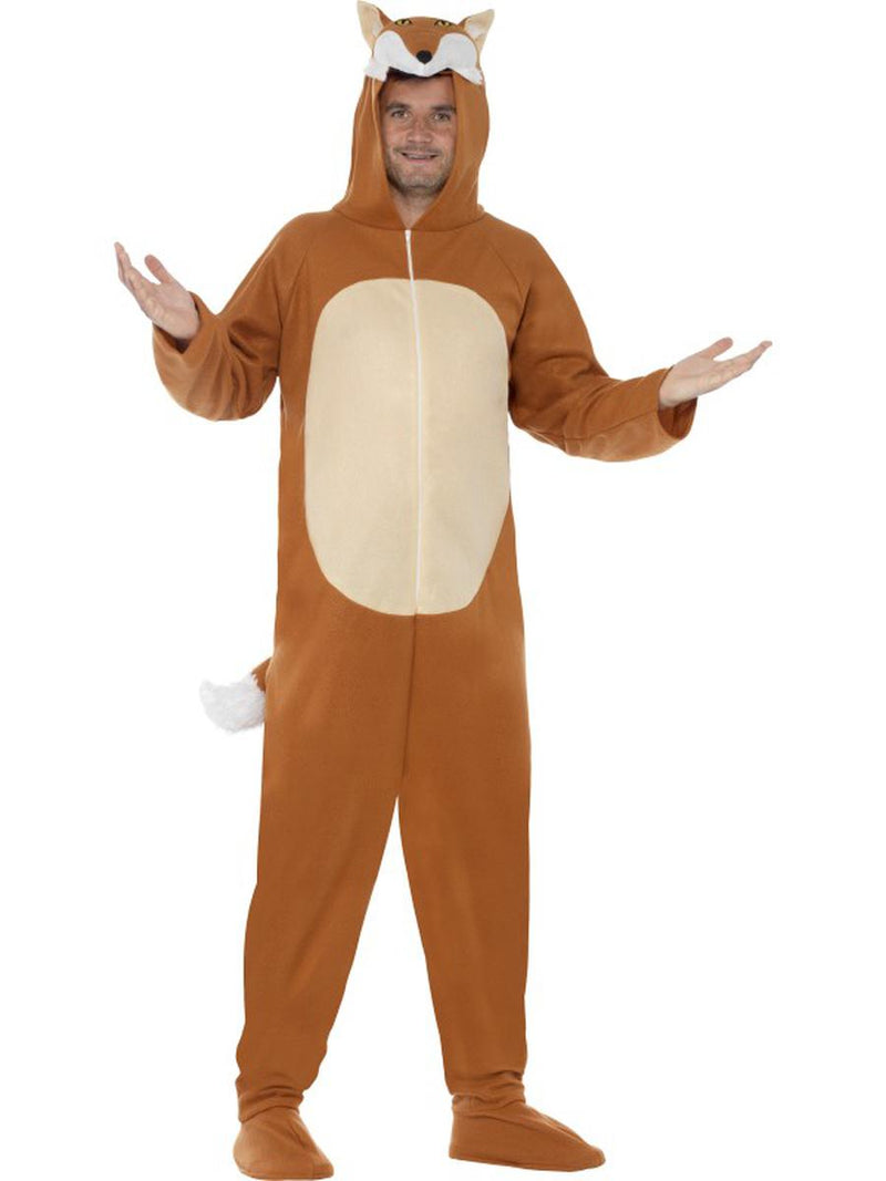1-PC-Unisex-Fox-Hooded-Jumpsuit-Bodysuit-Party-Costume