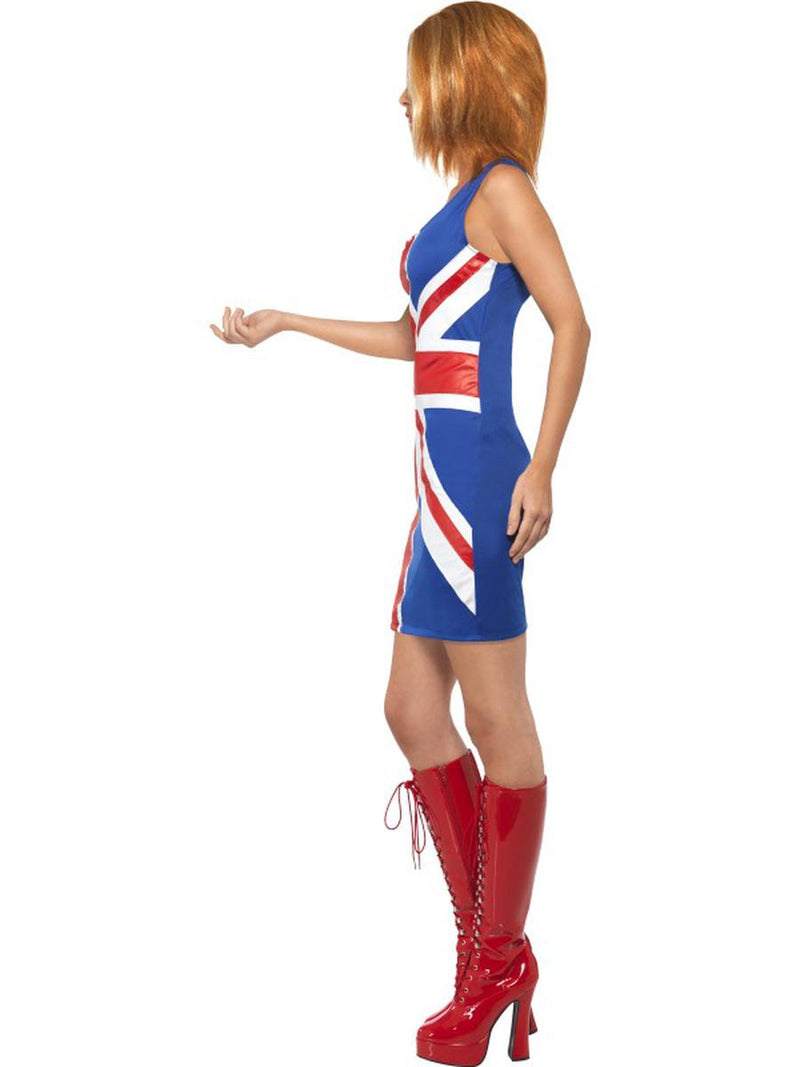 1 PC Women's UK Pop Star Spice Lady Flag Dress Party Costume - Fest Threads