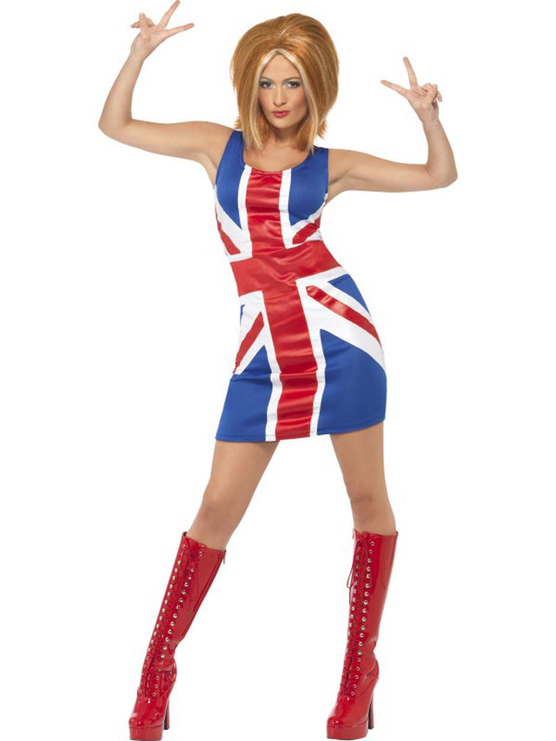 1-PC-Women's-UK-Pop-Star-Spice-Lady-Flag-Dress-Party-Costume