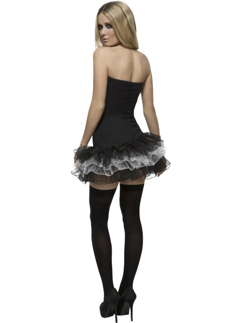 1 PC Dark Skeleton Sugar Skull Day of the Dead Strapless Tutu Dress Costume - Fest Threads