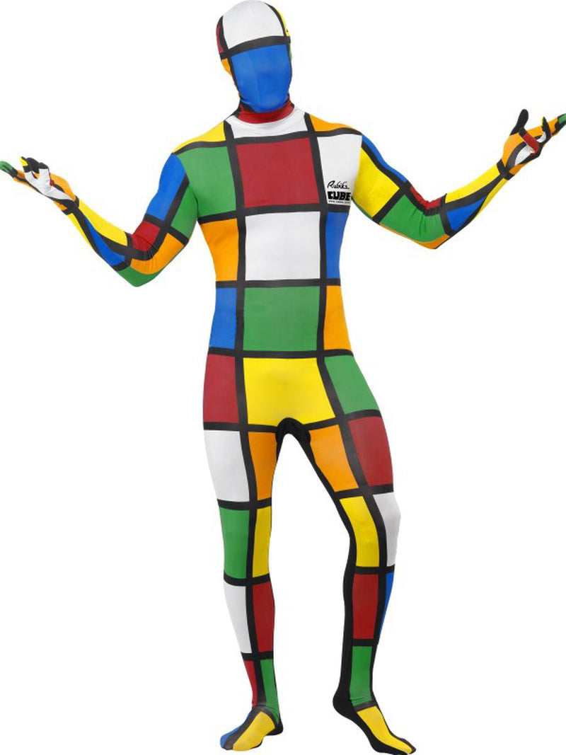 1-PC-Men's-80s-Rubik's-Cube-Full-Body-Skin-Jumpsuit-Onesie-Party-Costume