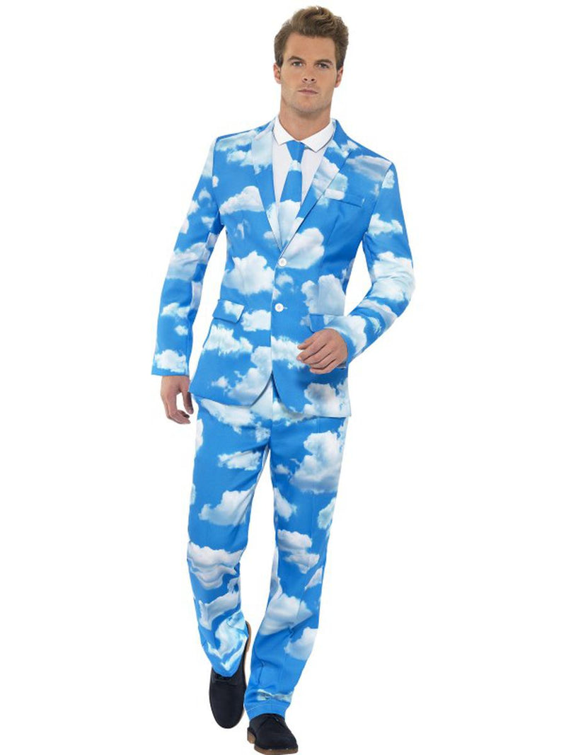3-PC-Men's-Sky-Blue-Cloud-Heaven-Suit-Jacket-&-Pants-w/-Tie-Party-Costume