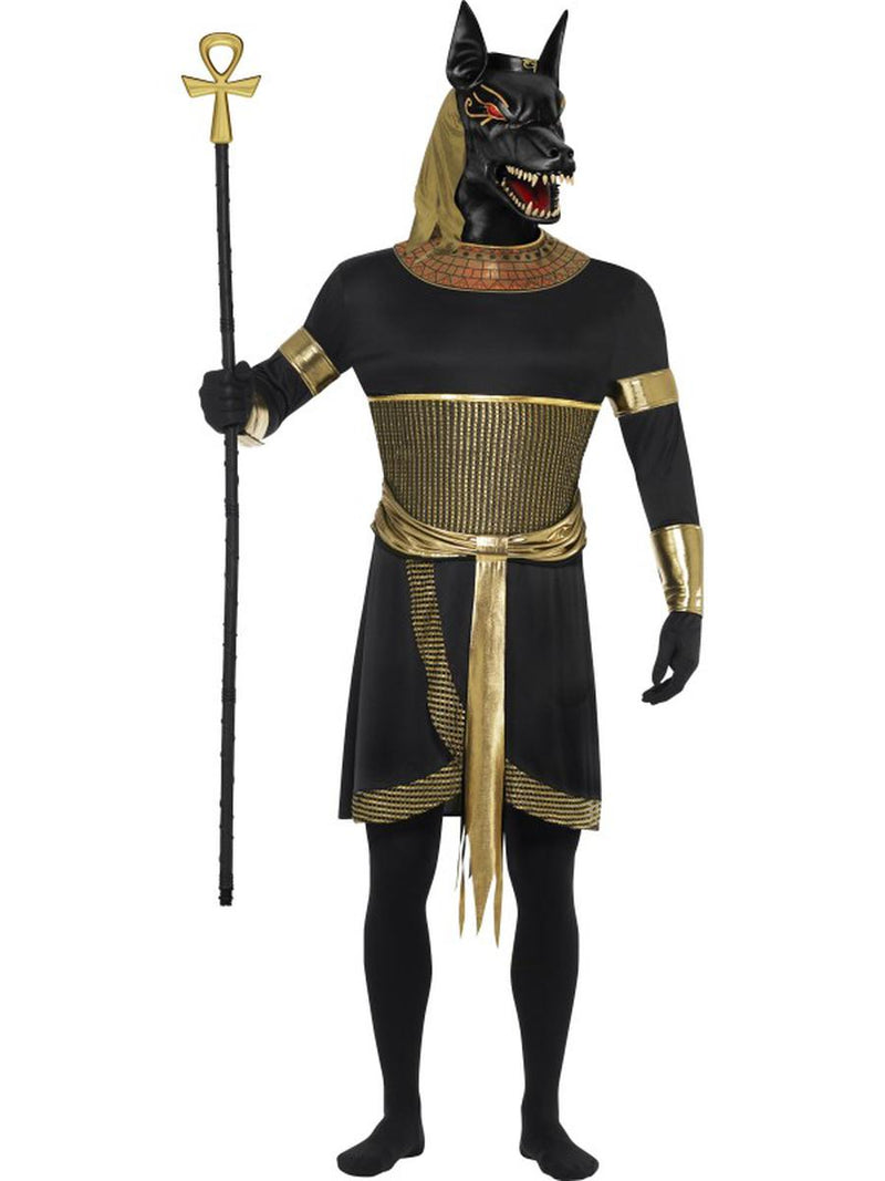7-PC-Egyptian-God-Anubis-the-Jackal-Tunic-&-Mask-w/-Accessories-Party-Costume