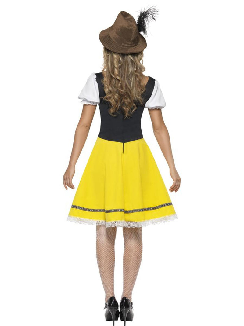 1 PC German Bavarian Oktoberfest Yellow Green & White Dress Party Costume - Fest Threads