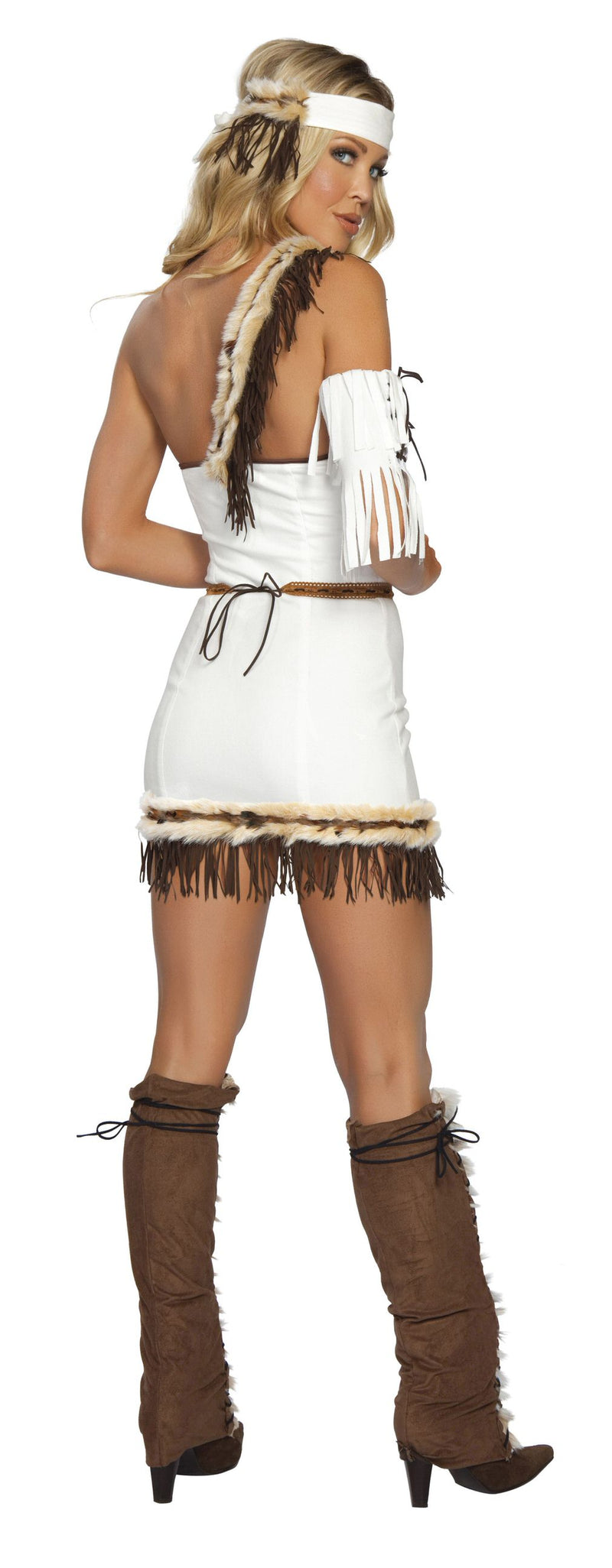 4 Piece Indian Princess Fringe Dress Costume - Fest Threads
