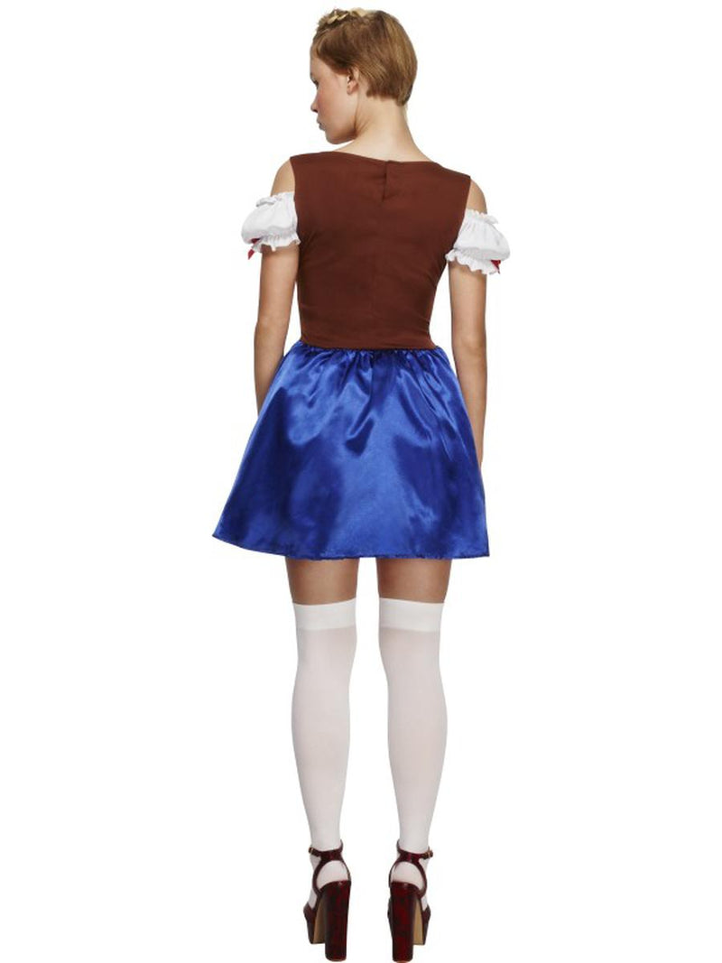 1 PC German Bavarian Oktoberfest Blue & Brown Apron Dress Party Costume - Fest Threads