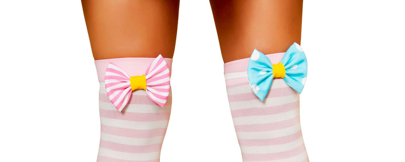 Sexy-Circus-Clown-Cotton-Candy-Striped-Knee-Socks-Costume-Accessory