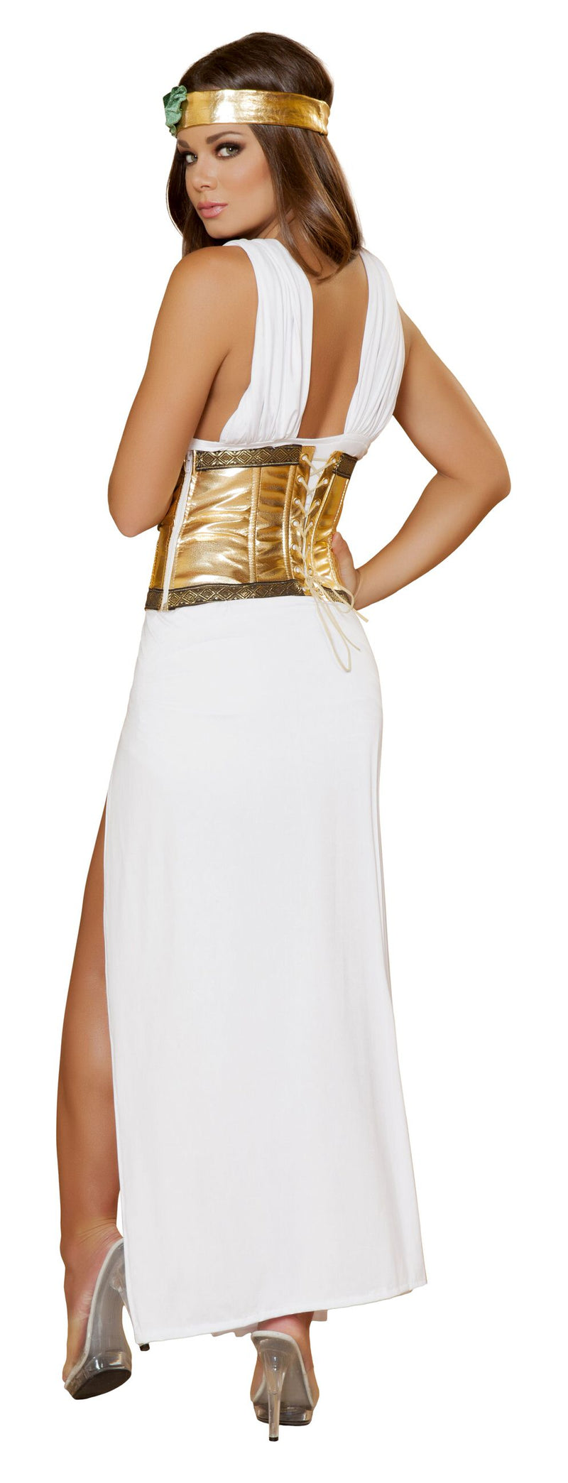 4 Piece Sexy Greek Goddess Aphrodite Adult Women's Costume - Fest Threads