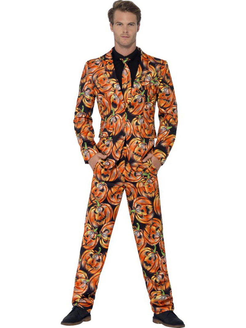 3-PC-Halloween-Jack-O-Lantern-Pumpkin-Jacket-Pants-&-Tie-Suit-Party-Costume