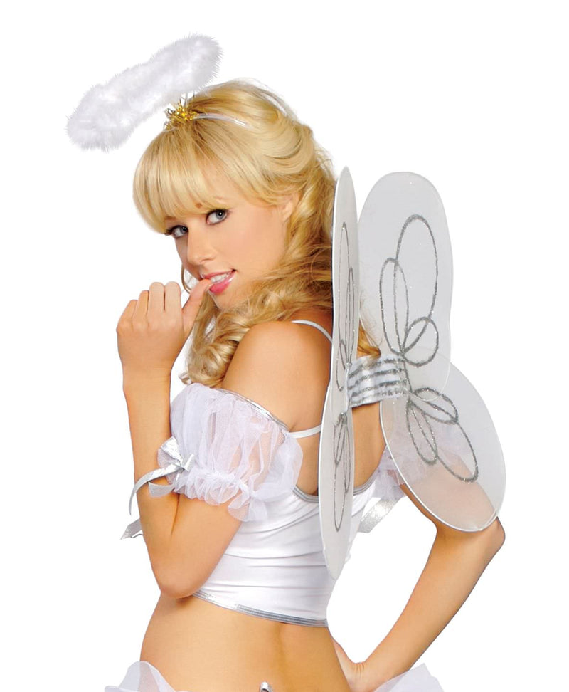 Adult-Women's-Sexy-White-Angel-Heavely-Wings-Halloween-Party-Costume-Accessory