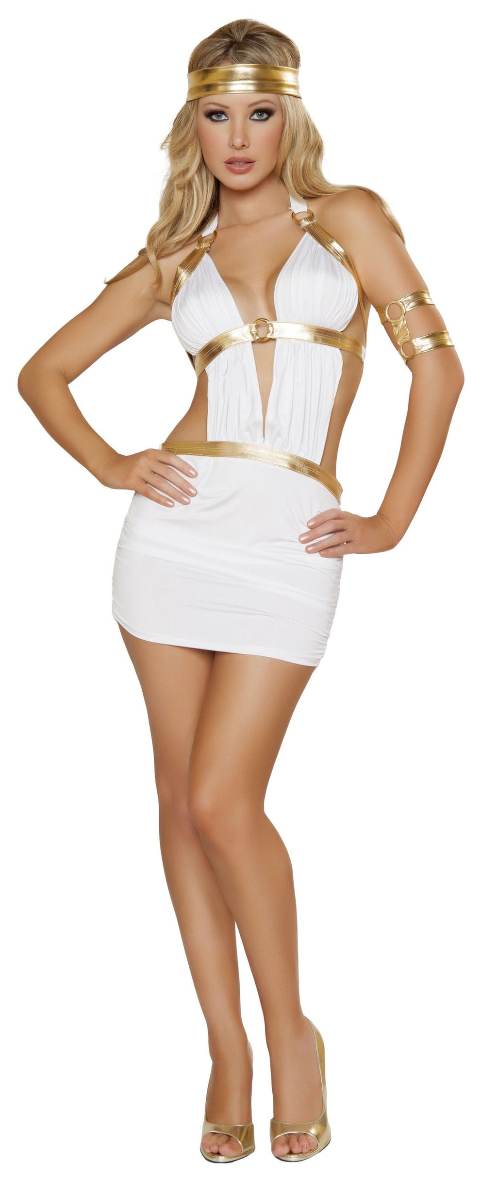 3-Piece-Sexy-Greek-Goddess-Aphrodite-White-Mini-Dress-Halloween-Costume