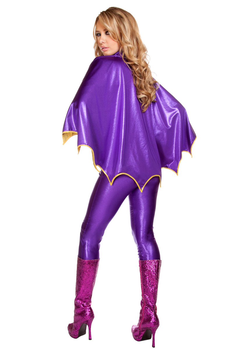 3 Piece Sexy Miss Joker Villian Batman Enemy Costume - Fest Threads