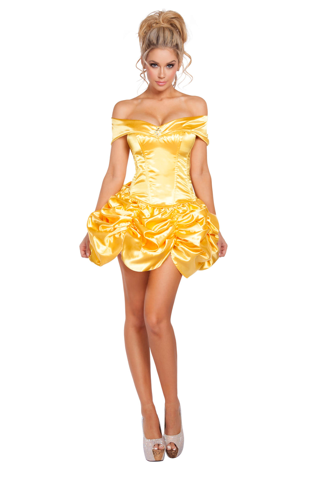 2-Piece-Sexy-Beauty-&-the-Beast-Princess-Belle-Top-&-Skirt-Costume