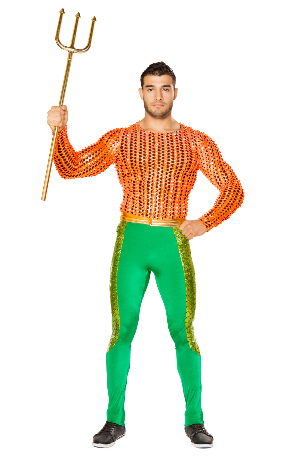 2-Piece-Merman-Poseidon-Long-Sleeve-Shirt-&-Pants-Party-Costume
