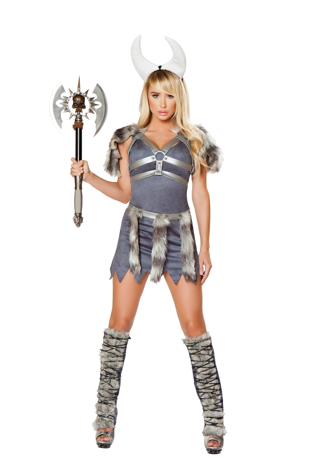 4-Piece-Viking-Dress-&-Accessories-Party-Costume