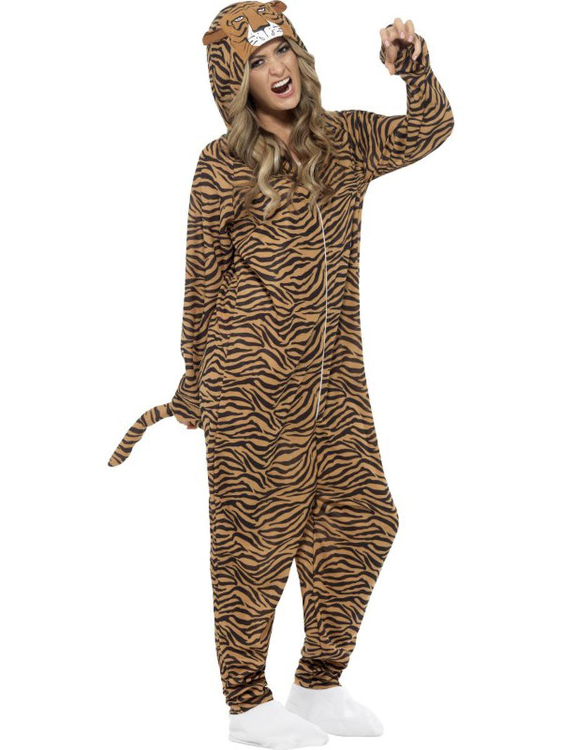 1-PC-Unisex-Tiger-Hooded-Jumpsuit-Bodysuit-Party-Costume