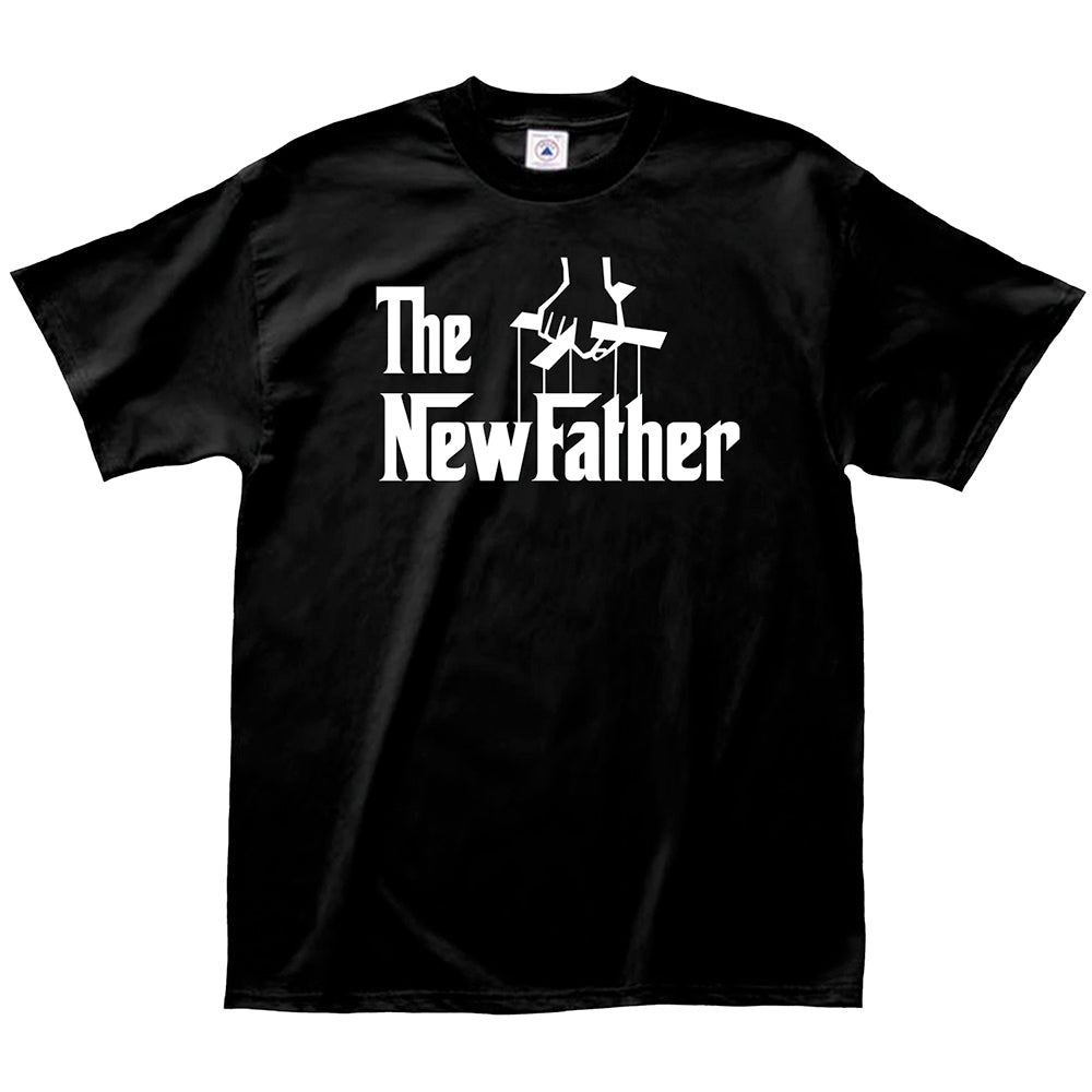 "Adult-Men's-Black-""The-New-Father""-Shirt"