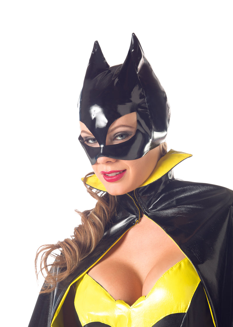 Adult-Women's-Bat-Woman-Face-Mask-Novelty-Party-Halloween-Costume-Accessory