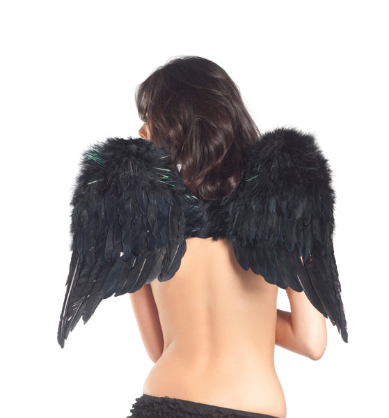 Adult-Women's-Angel-Feather-Wings-Novelty-Party-Halloween-Costume-Accessory
