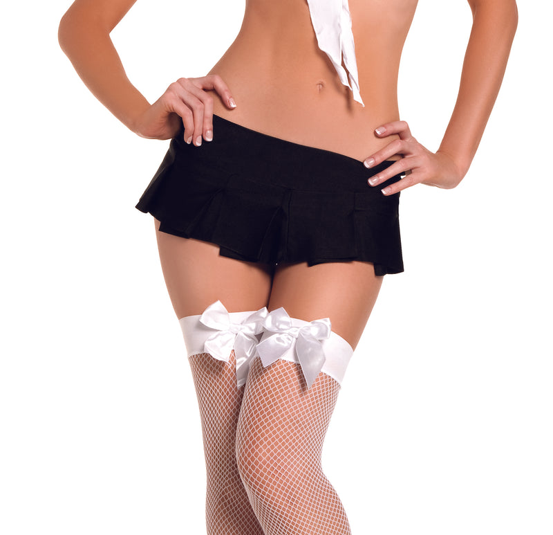 Adult-Women's-School-Girl-Pleated-Mini-Skirt-Halloween-Party-Costume-Accessory