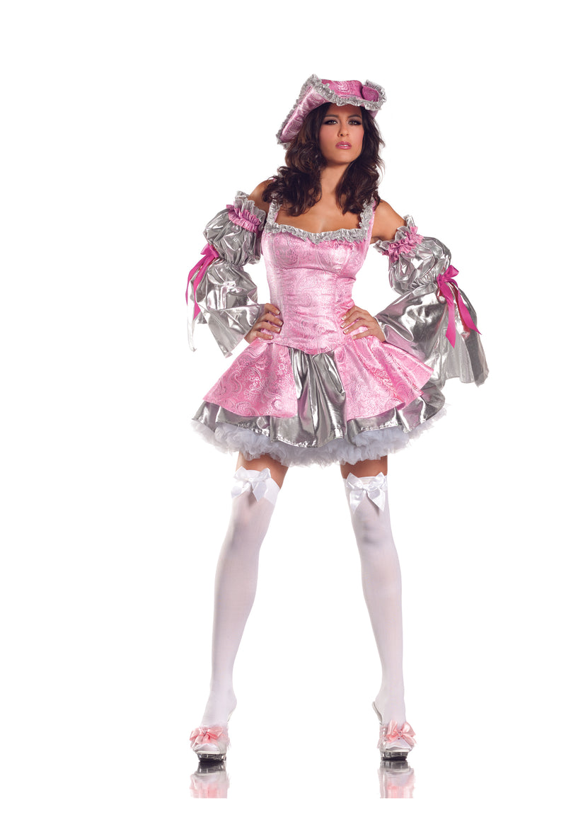 Adult-Women's-4-Piece-Sexy-Lady-Marie-Antoinette-Halloween-Party-Costume