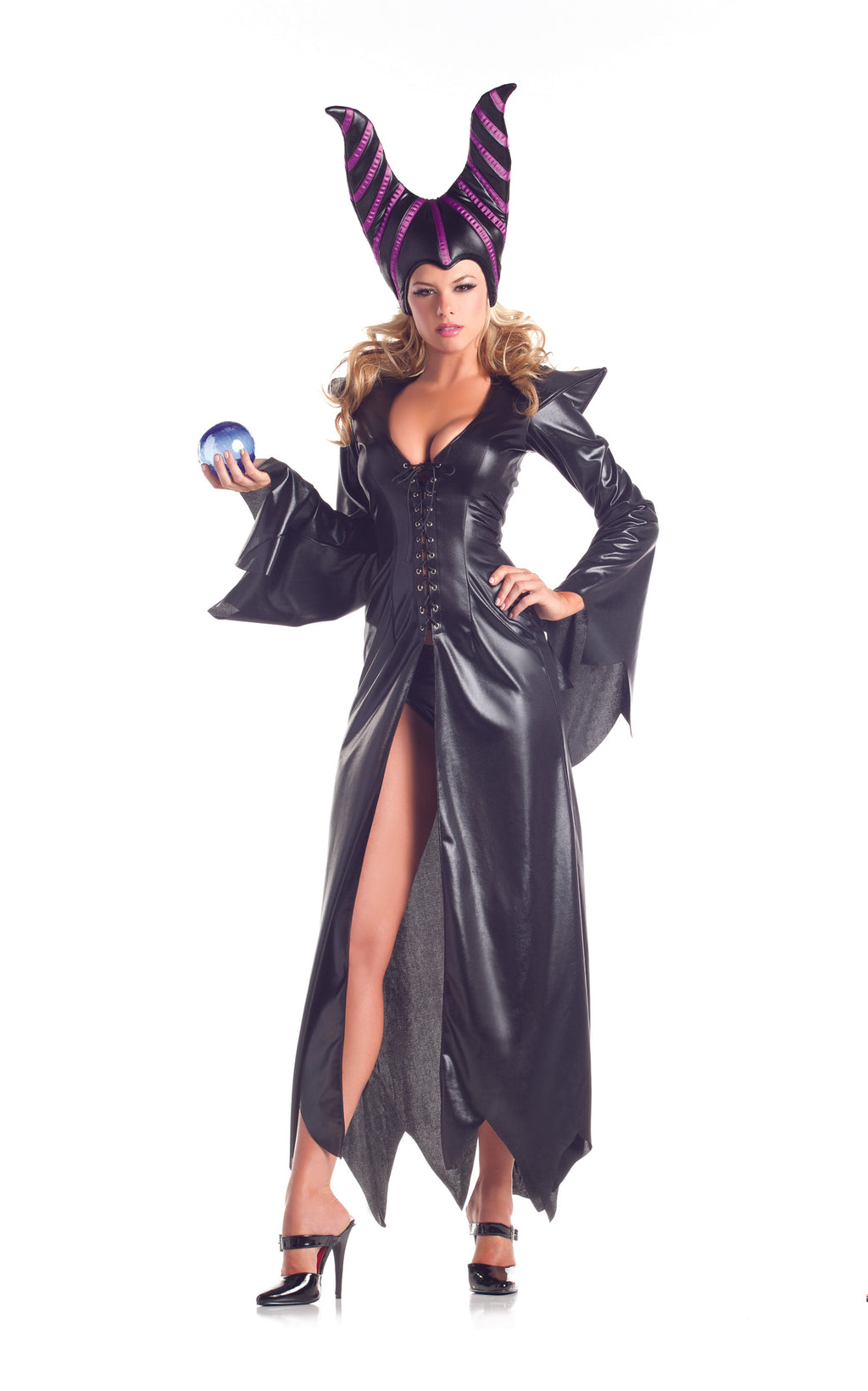 Adult-Women's-2-Piece-Sexy-Maleficent-Halloween-Party-Costume-