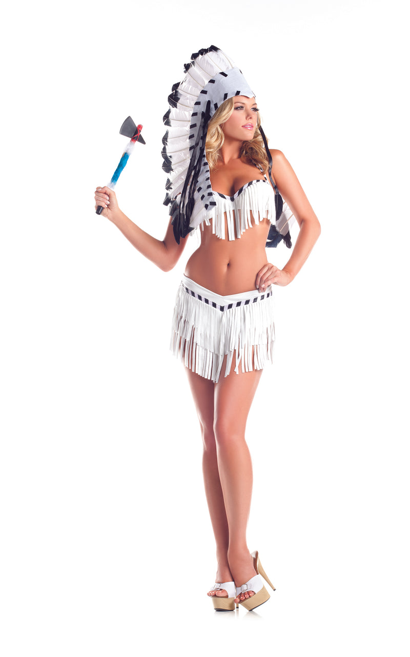 Adult-Women's-2-Piece-Sexy-Native-American-Indian-Princess-Halloween-Party-Costume-