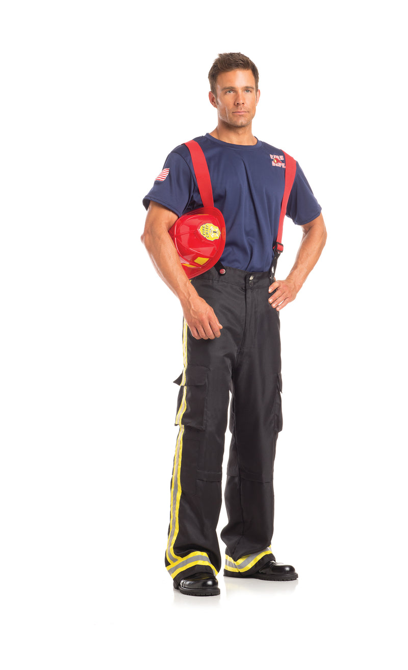 Adult-Men's-3-Piece-Fire-Fighter-Halloween-Party-Costume