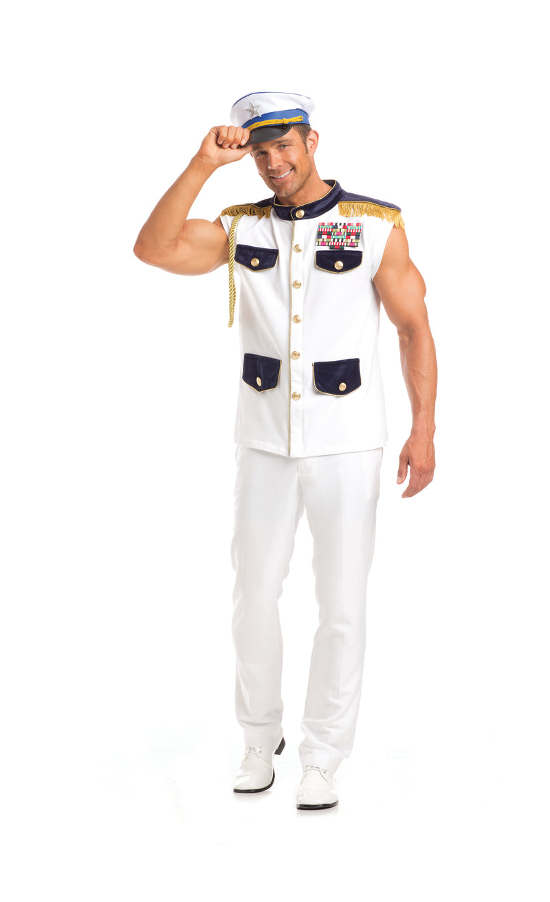 Adult-Men's-2-Piece-Sea-Captain-Halloween-Party-Costume