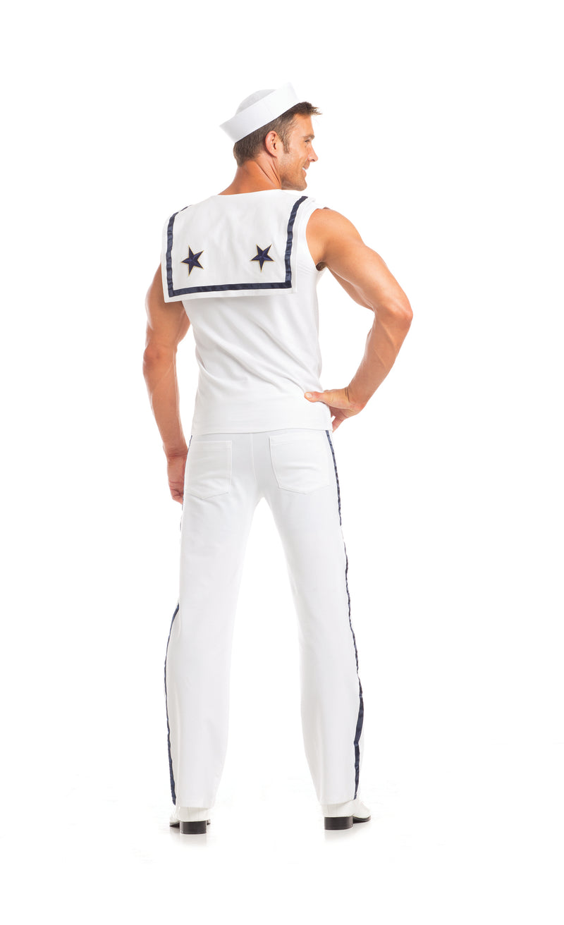 Adult Men's 3 Piece Sailor Halloween Party Costume - Fest Threads