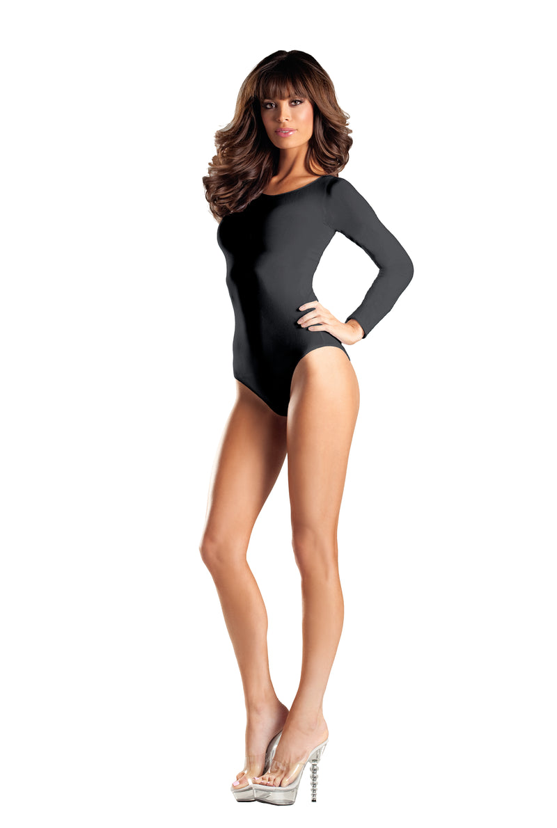 Adult-Women's-Long-Sleeve-Body-Suit-Halloween-Party-Costume