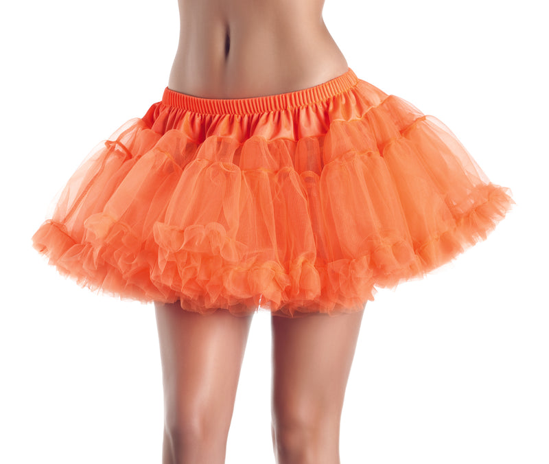 "Adult-Women's-2-Layer-12""-Mini-Petticoat-Halloween-Party-Costume-Accessory"