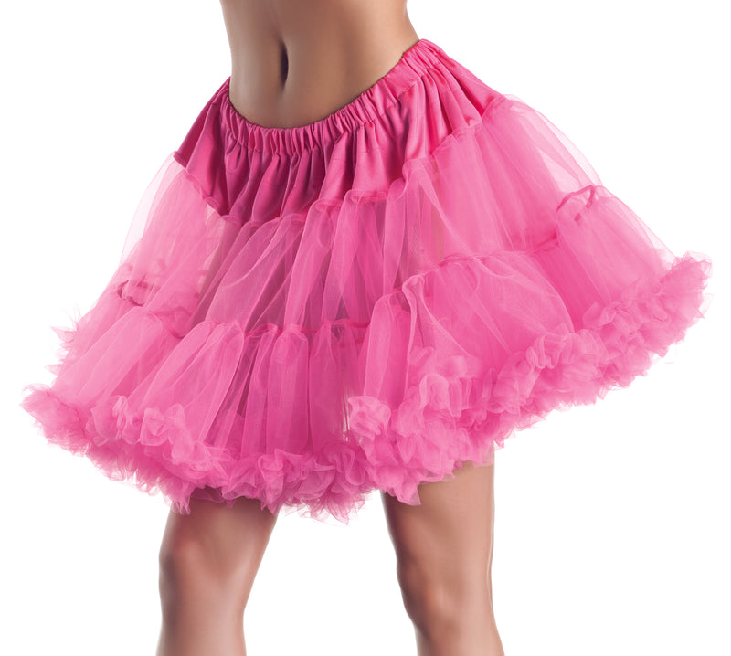 "Adult-Women's-2-Layer-18""-Petticoat-Halloween-Party-Costume-Accessory"