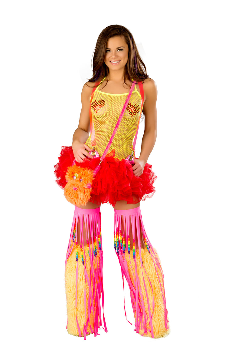 Adult-Women's-Red-Suspender-Tutu-Festival-Party-Costume-Accessory