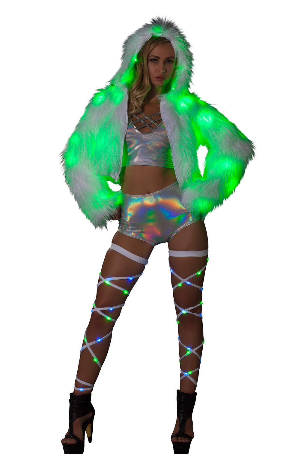 1-PC-Light-up-Fur-Cropped-Jacket-Rave-Festival-Party-Costume---Multiple-Colors