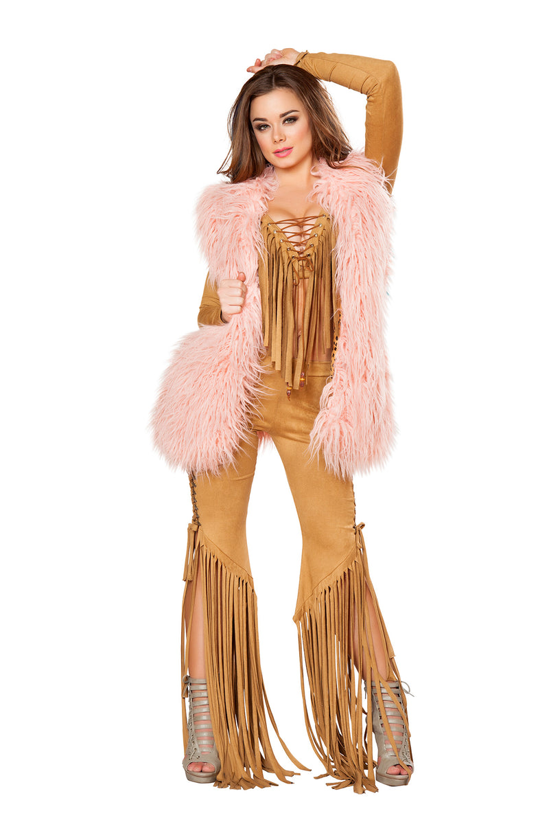 1-PC-Light-Pink-Vintage-Inspired-Mohair-Vest-Festival-Party-Costume
