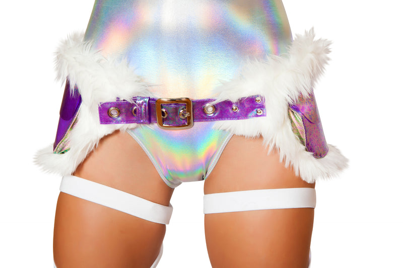 Adult Women's Light Up Furry Satchel Fanny Pack Party Costume Accessory - Fest Threads