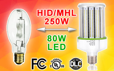 250W metal halide led replacement