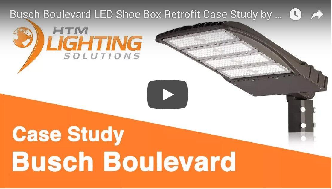 Busch Boulevard LED Shoe Box Retrofit Case Study (Video)