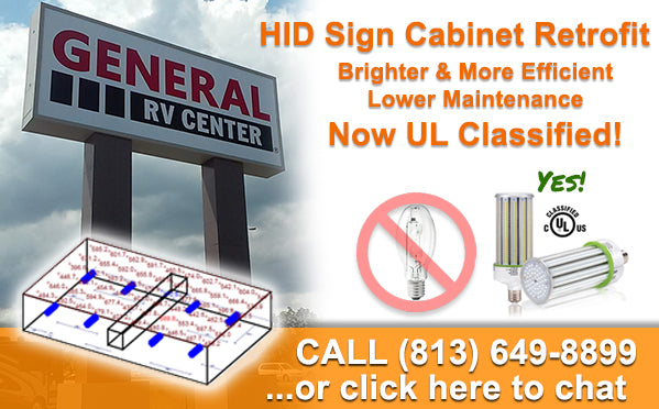 LED Sign Retrofit