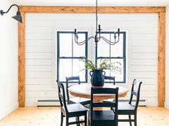 Gooseneck Barn Lights Setting The Mood In This Instagram Known Farmhouse
