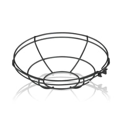 10'' Diameter Satin Black Wire Guard For 10'' Diameter Shades