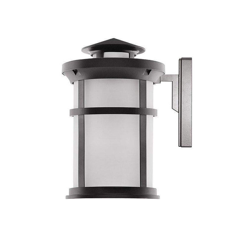 LED Wall Lamps 11.5W Outdoor LED Wall Lantern W/ Oil Rubbed Bronze Aluminum Die Cast & Frosted Glass Lens - 1050 lm 3000K - Warm White