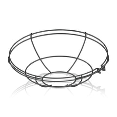 14'' Diameter Satin Black Wire Guard For 14'' Diameter Shades