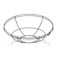 17'' Diameter Satin Black Wire Guard For 17'' Diameter Shades