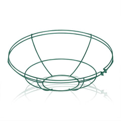 17'' Diameter Satin Green Wire Guard For 17'' Diameter Shades