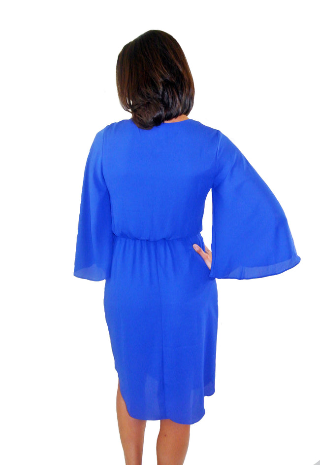 Royalty Blue Midi Dress