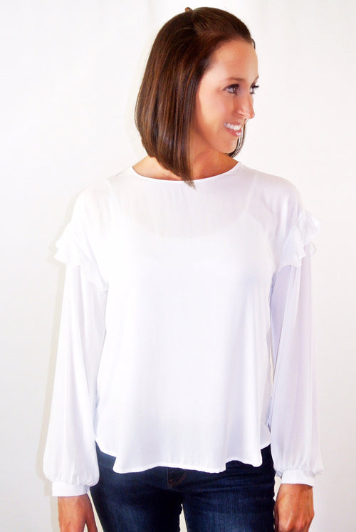 Timeless Ruffle Blouse