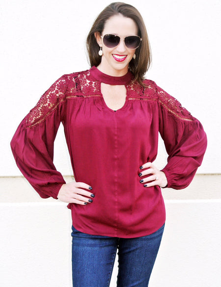 Element of Surprise Blouse